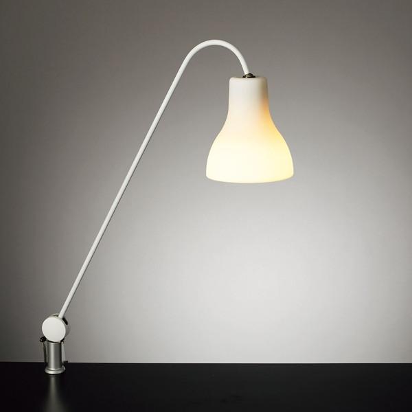 【送料無料】山田照明 Z-J9000-W ホワイト(白) Z-LIGHT(ゼットライト/Zライト) Minimo(ミニモ) [LED光源デスクスタンド] E17 電球色 LDA4L-G-E17/40W 2700K(Ra83) 非調光 シリコン アームスタンド