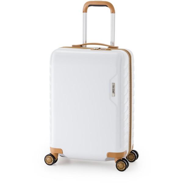 【送料無料】アジア・ラゲージ MS-202-18 ホワイト マックススマート [スーツケース (29L/1~2泊)]