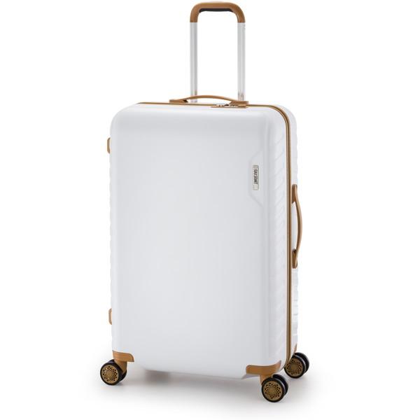 【送料無料】アジア・ラゲージ MS-202-28 ホワイト マックススマート [スーツケース (71L/4~7泊)]