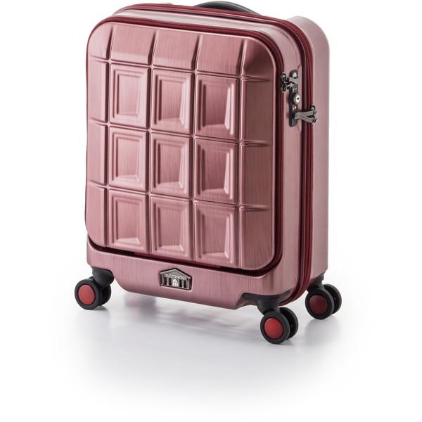 【送料無料】アジア・ラゲージ PTS-5005K マットブラッシュレッド パンテオン [スーツケース (32L/1~3泊)]