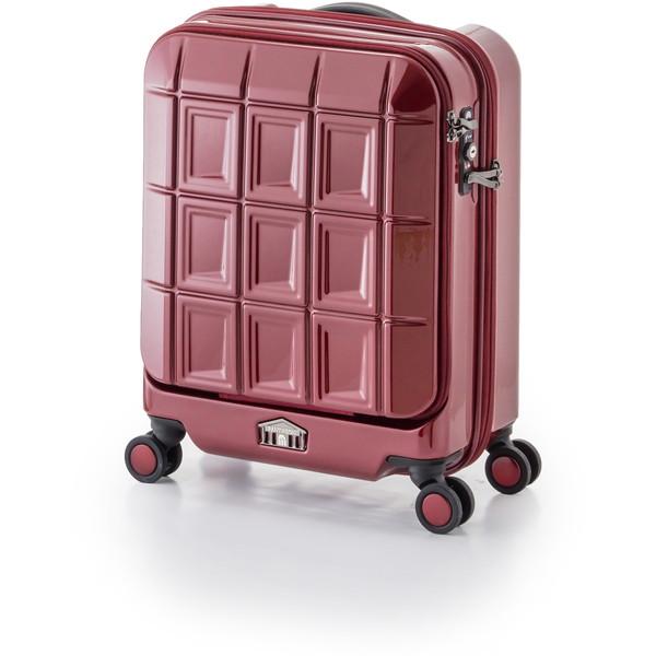 【送料無料】アジア・ラゲージ PTS-5005K クリムゾンローズレッド パンテオン [スーツケース (32L/1~3泊)]