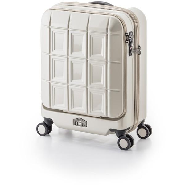 【送料無料】アジア・ラゲージ PTS-5005K パールホワイト パンテオン [スーツケース (32L/1~3泊)]