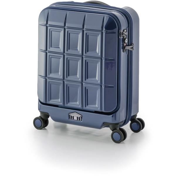 【送料無料】アジア・ラゲージ PTS-5005K ネイビー パンテオン [スーツケース (32L/1~3泊)]