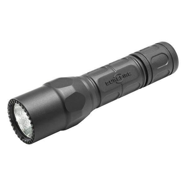 【送料無料】SureFire G2X-D-BK ブラック G2X プロ [LEDフラッシュライト(320lm)]