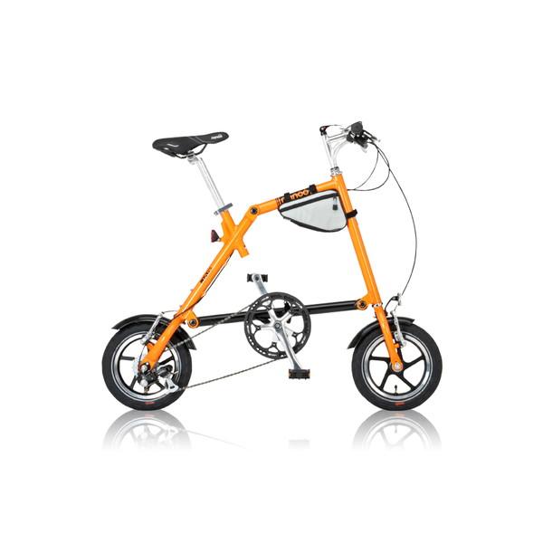 【送料無料】nanoo FD-1207 オレンジ [折りたたみ自転車(6段変速)]【同梱配送不可】【代引き不可】【沖縄・北海道・離島配送不可】