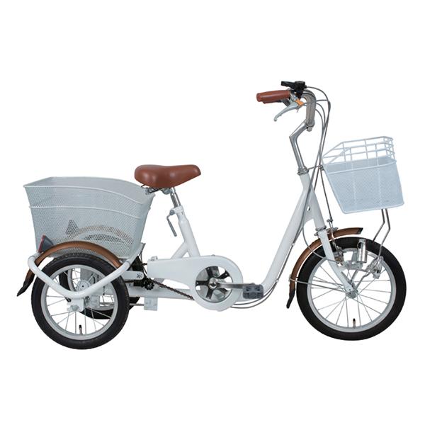 【送料無料】ミムゴ MG-TRE16SW-WH ホワイト SWING CHARLIE(スイングチャーリー) ロータイプ [三輪自転車(16インチ)]【同梱配送不可】【代引き不可】【沖縄・北海道・離島配送不可】