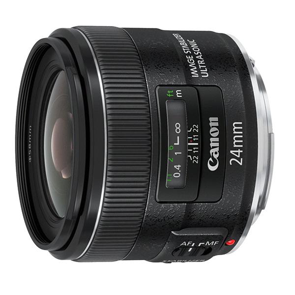 【送料無料】CANON EF24mm F2.8 IS USM [広角単焦点レンズ]