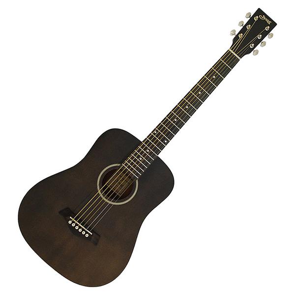 【送料無料】Yairi YM-02/BLK(S.C) ブラック S.YAIRI Compact-Acousticシリーズ [ミニアコースティックギター]