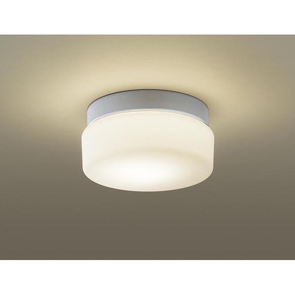 【送料無料】PANASONIC LGW85006K [洋風小型LEDシーリングライト(電球色) 防湿/防雨型]