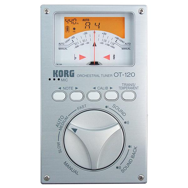 【送料無料】KORG OT-120 [クロマチックチューナー]