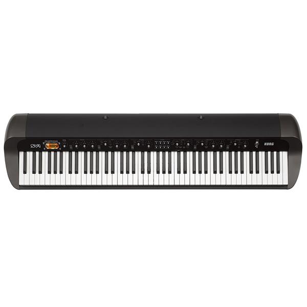 【送料無料】KORG SV1-88-BK ブラック STAGE VINTAGE PIANO [キーボード(88鍵)]