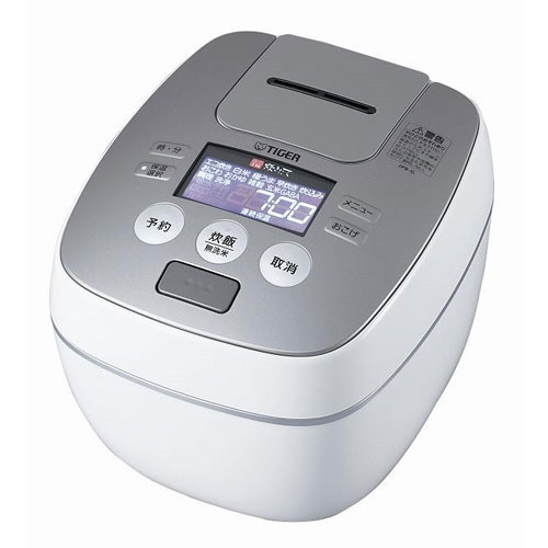 【送料無料】TIGER JPB-G180-WL ラスターホワイト 炊きたて [圧力IH炊飯器 (1升炊き)]