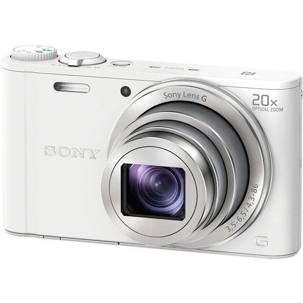 SONY DSC-WX350-W ホワイト サイバーショット [コンパクトデジタルカメラ(1820万画素)]
