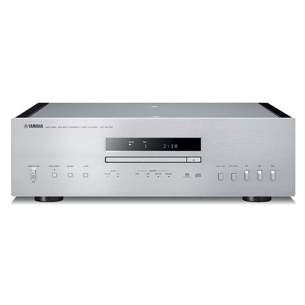 YAMAHA CD-S2100 シルバー/ピアノブラック [CDプレーヤー(ハイレゾ音源対応)]
