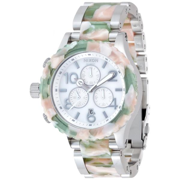 【送料無料】NIXON A0371539 THE 42-20 CHRONO ミントジュレ [腕時計] 【並行輸入品】
