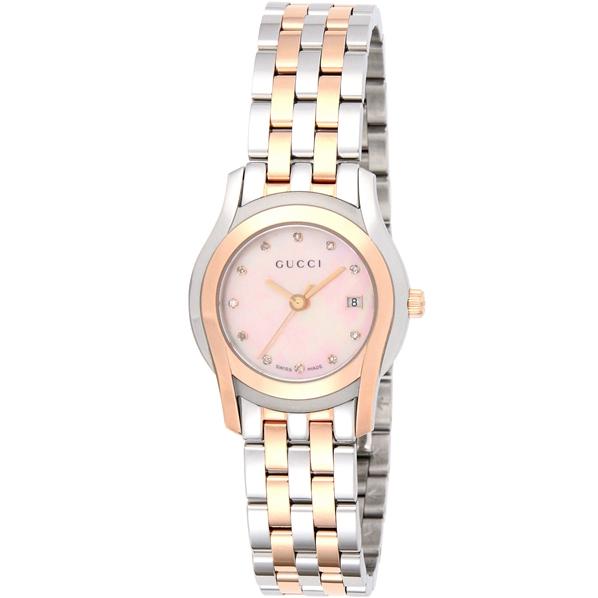 【送料無料】GUCCI YA055536 Gクラス デイト デイト ダイヤモンド [腕時計 YA055536 レディース]【並行輸入品 [腕時計】, 津久井郡:edddca6f --- sunward.msk.ru