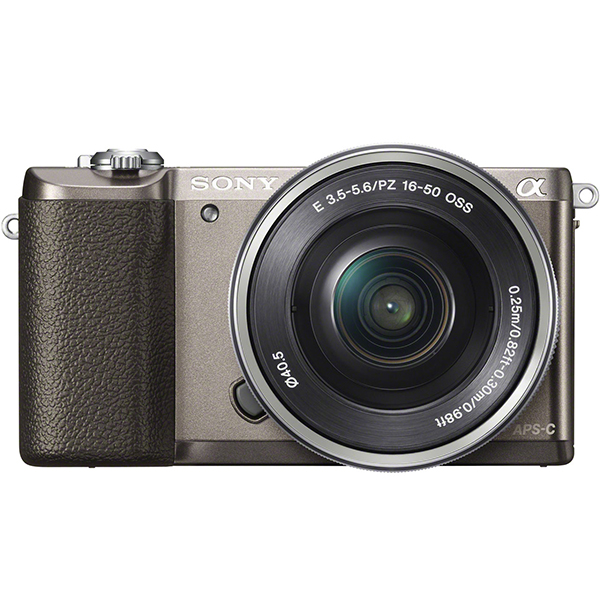 SONY ILCE-5100L パワーズームレンズキット ブラウン [デジタル一眼カメラ (2430万画素)]