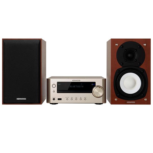 【送料無料】JVC K-505-N ゴールド Kseries [オーディオシステム(Bluetooth搭載)]