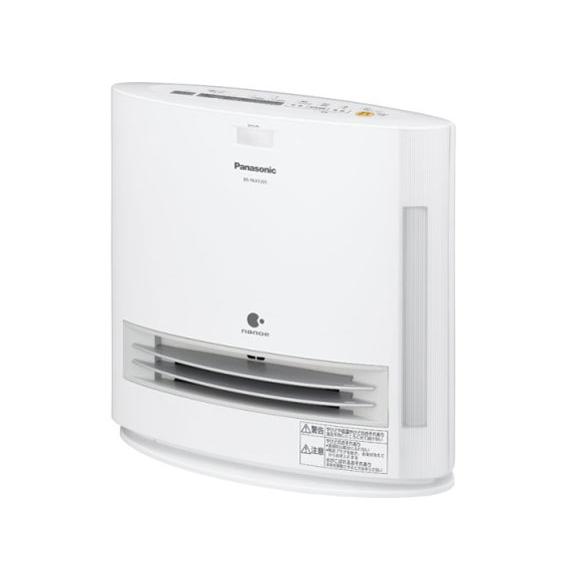 【送料無料】PANASONIC DS-FKX1205-W ホワイト [セラミックファンヒーター(加湿機能付きひとセンサー搭載)]