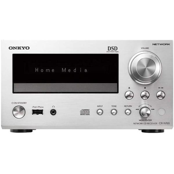 【送料無料】ONKYO CR-N765-S シルバー [CDレシーバー (ハイレゾ音源対応)] オンキョー onkyo