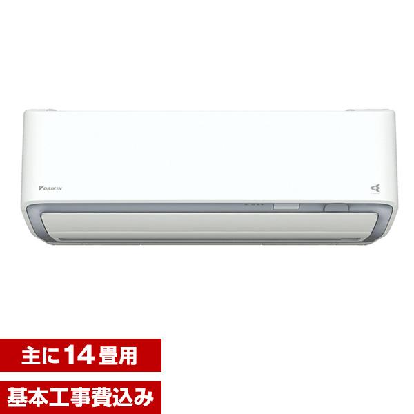 【送料無料】【標準設置工事セット】ダイキン(DAIKIN) S40WTDXV-W ホワイト スゴ暖 DXシリーズ(寒冷向け) [エアコン(主に14畳用・200V対応・室外電源)]