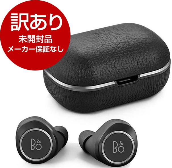 【未開封品・メーカー保証なし】 イヤホン 完全ワイヤレスイヤホン Bang&Olufsen Beoplay E8 2.0 Black B&O PLAY 防塵 防滴 Bluetooth NFMI AAC対応 Qi充電対応 通話対応 ブラック