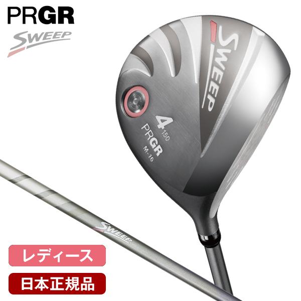 PRGR SWEEP(スウィープ) レディース フェアウェイウッド 2020年モデル NEWスプリング カーボンシャフト #5 21゚ M-30(L) 【日本正規品】