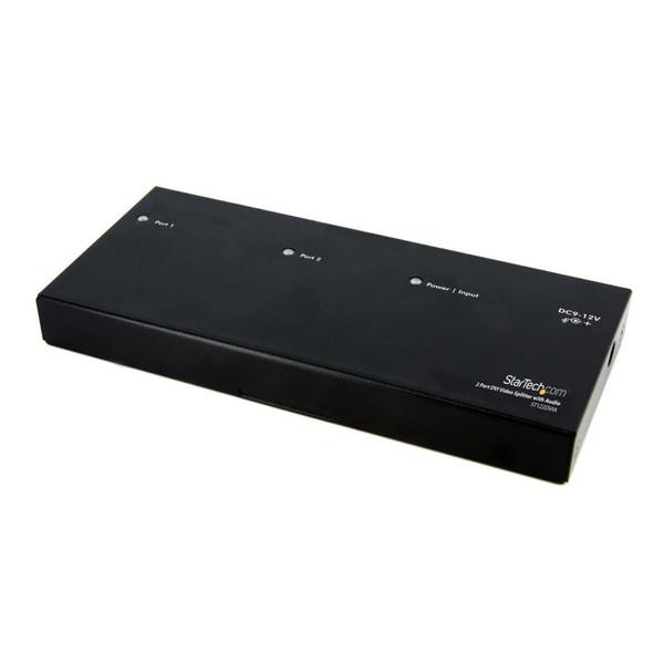 【送料無料】StarTech ST122DVIA [2出力対応DVIディスプレイスプリッター ビデオ・モニタ分配器(オーディオ対応)]