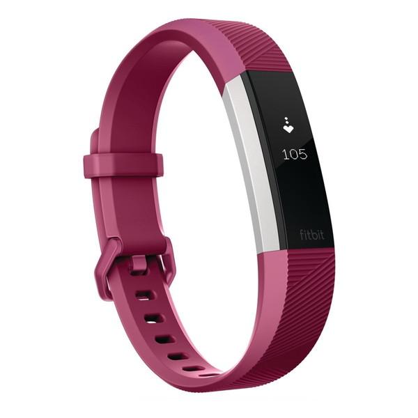 【送料無料】fitbit FB408SPML-CJK フューシャ Fitbit Alta HR [心拍計+フィットネス リストバンド(Lサイズ)]
