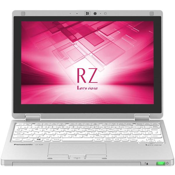 【送料無料】PANASONIC CF-RZ6RFRVS シルバー Let s note RZ6 [ノートパソコン (10.1型ワイド液晶・SSD256GB)]【同梱配送不可】【代引き不可】【沖縄・離島配送不可】