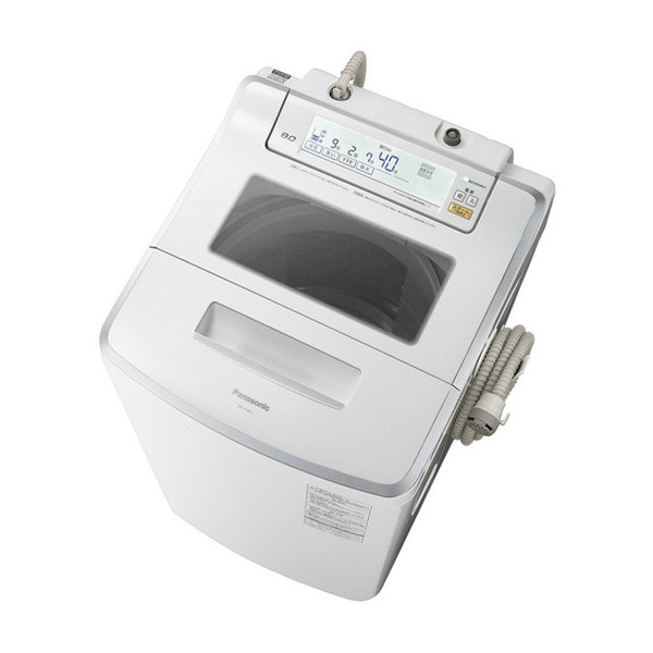 【送料無料】PANASONIC NA-JFA803-W クリスタルホワイト Jコンセプト [全自動洗濯機 (8.0kg)]
