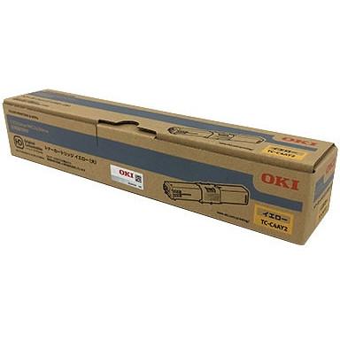 【送料無料】OKI TC-C4AY2 イエロー [レーザートナーカートリッジ (MC363dnw/C332dnw用・大容量)]