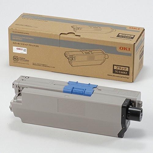 【送料無料】OKI TC-C4AK2 ブラック [レーザートナーカートリッジ (MC363dnw/C332dnw用・大容量)]