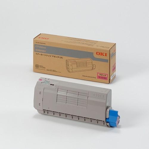 【送料無料】OKI TC-C4CM2 マゼンタ [レーザートナーカートリッジ (C712dnw用・大容量)]
