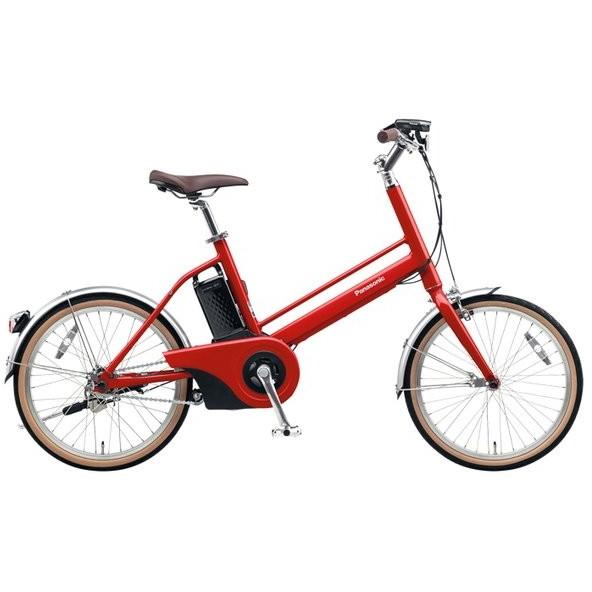 【送料無料】PANASONIC BE-JELJ01-R レッドリーブス Jコンセプト [電動アシスト自転車(20インチ)]【同梱配送不可】【代引き不可】【沖縄・北海道・離島配送不可】