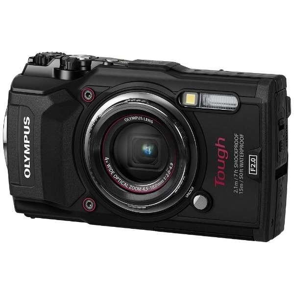 【送料無料】OLYMPUS TG-5-BLK ブラック Tough [デジタル一眼カメラ (1200万画素)] TG5BLK