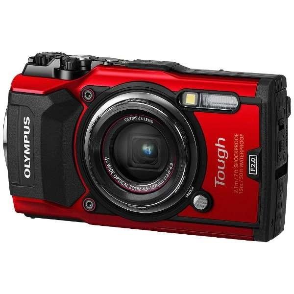 【送料無料】OLYMPUS TG-5-RED レッド Tough [コンパクトデジタルカメラ (1200万画素)]