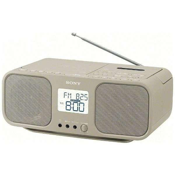 【送料無料】SONY CFD-S401 TIC ベージュ [ワイドFM対応 CDラジオカセットレコーダー]