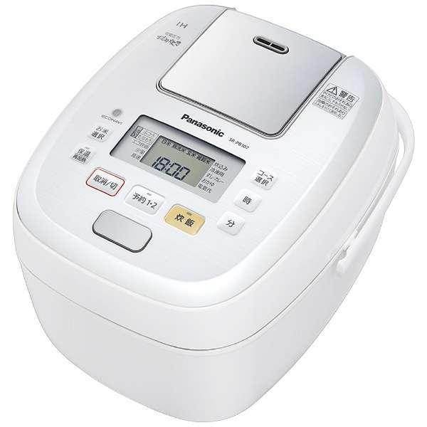 【送料無料】PANASONIC SR-PB107-W ホワイト 可変圧力おどり炊き [圧力IH炊飯器(5.5合炊き)]