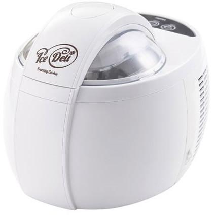 【送料無料】ハイアール JL-ICM1000A(W) ホワイト アイスデリ グランデ [アイスクリームメーカー(フリージング・クッカー)]