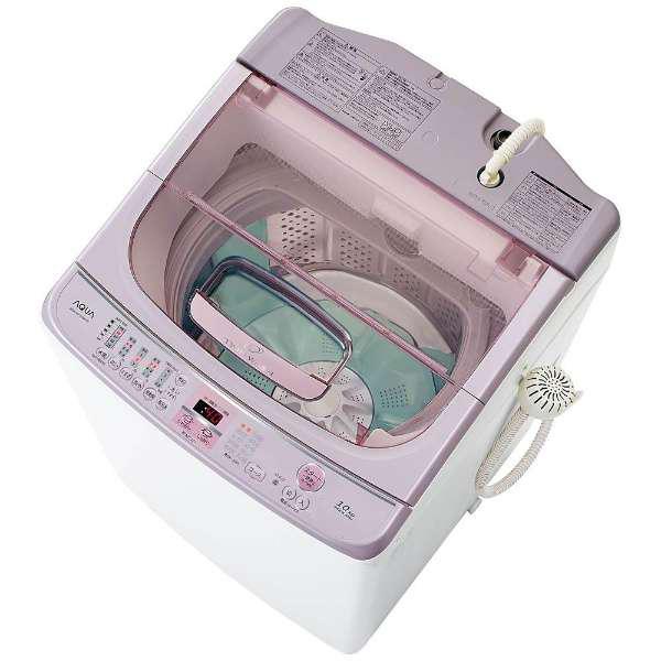 【送料無料】AQUA AQW-VW1000F-W ホワイト [全自動洗濯機 (洗濯10.0kg)]