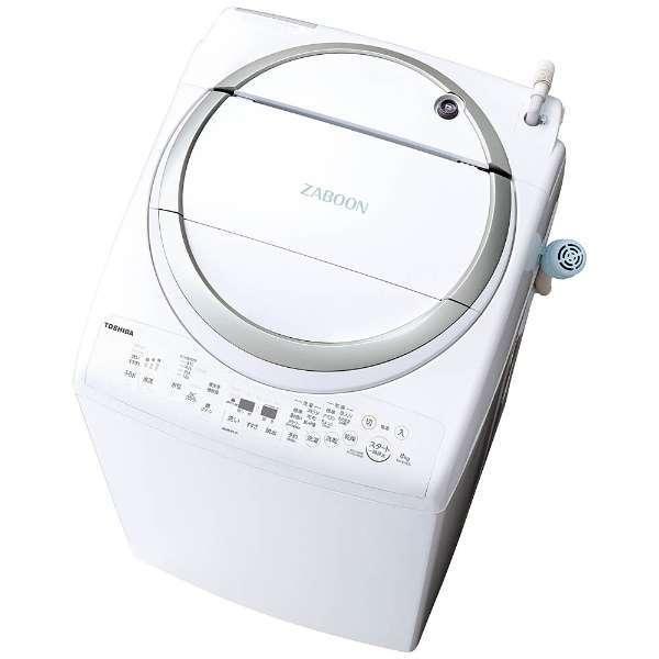 【送料無料】東芝 AW-8V6-S メタリックシルバー ZABOON [縦型洗濯乾燥機(洗濯8.0kg/乾燥4.5kg)], トウエイチョウ:ac42ffa8 --- graffiti-web.jp