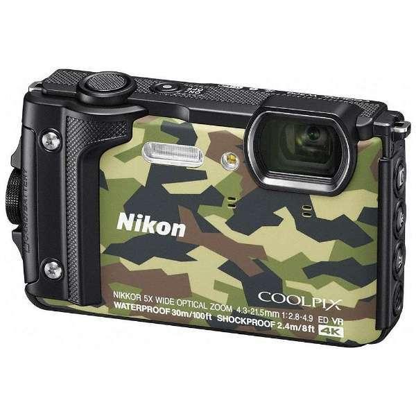 【送料無料】NIKON COOLPIX W300 GR カムフラージュ [コンパクトデジタルカメラ(1605万画素)]
