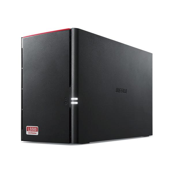 【送料無料】BUFFALO LS520DN0802B LinkStation for SOHO [ネットワーク対応HDD(NAS) 8TB 3年保証モデル]