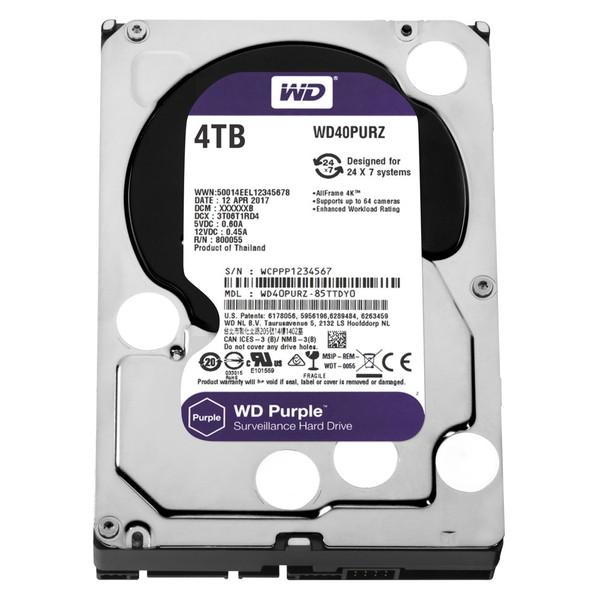 【送料無料】WESTERN DIGITAL WD40PURZ WD Purple [3.5インチ内蔵HDD(4TB・3.5インチ・SATA600)]