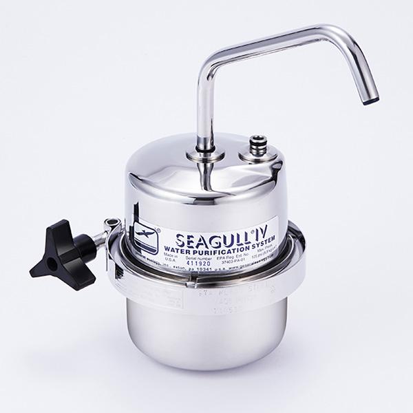 【送料無料】SEAGULL IV X-1DS 切替コックタイプ DSシリーズ [カウンタートップ浄水システム]