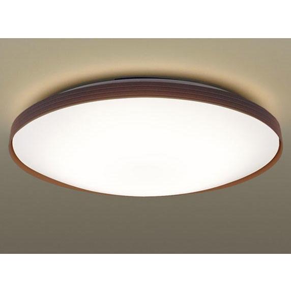 【送料無料】PANASONIC LGBZ1539 ダークブラウン [洋風LEDシーリングライト(~8畳/調光・調色) リモコン付き サークルタイプ]