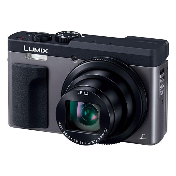 【送料無料】PANASONIC DC-TZ90-S シルバー LUMIX [コンパクトデジタルカメラ(2030万画素)]