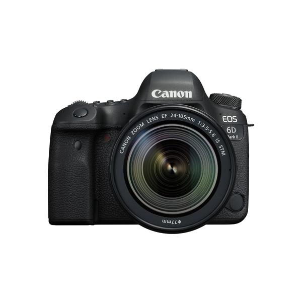 【送料無料】CANON EOS 6D Mark II EF24-105 IS STM レンズキット [デジタル一眼カメラ (2620万画素)]