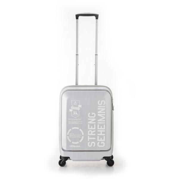 【送料無料】アジア・ラゲージ HEC-1633-18 マットブラッシュホワイト FREIGHTER [スーツケース (36L・1~2泊)]